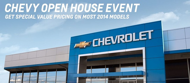 Chevy Truck Month and Chevy Open House Event